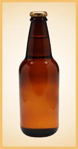 Custom birch beer bottle label branding flavor screen printing