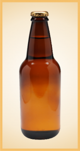 Custom cream soda bottle label branding flavor screen printing