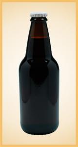 Custom diet root beer bottle label branding flavor screen printing