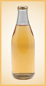 Custom ginger ale bottle label branding flavor screen printing