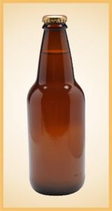Custom ginger beer bottle label branding flavor screen printing