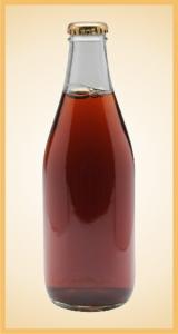 Custom iced tea bottle label branding flavor screen printing