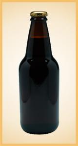 Custom root beer bottle label branding flavor screen printing