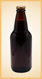 Custom sarsaparilla bottle label branding flavor screen printing