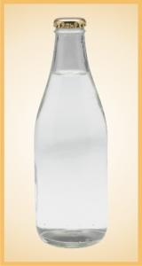 Custom sparkling water bottle label branding flavor screen printing