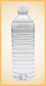 Custom spring water bottle label branding flavor screen printing