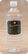 Fratellos Bottled Water Custom bottle gallery label branding flavor screen printing