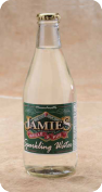 Jamie's Sparkling Water Custom bottle gallery label branding flavor screen printing
