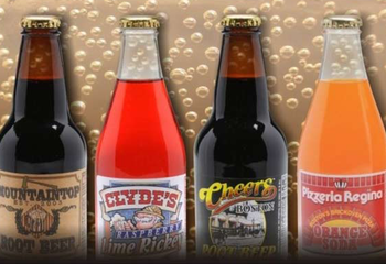 Custom bottle gallery label branding flavor screen printing